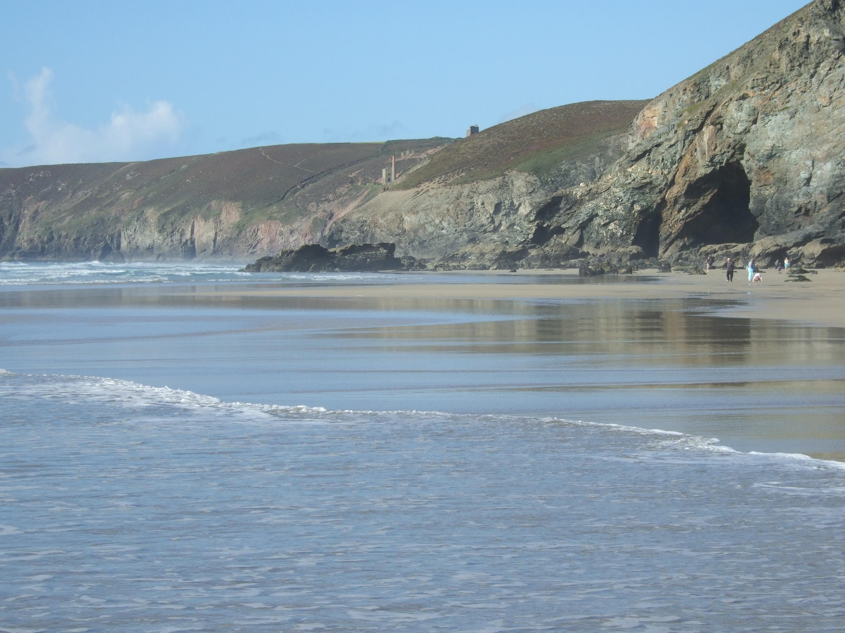 Porthtpwan Beach